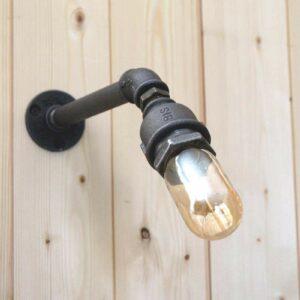 Lampe raccord fonte plomberie