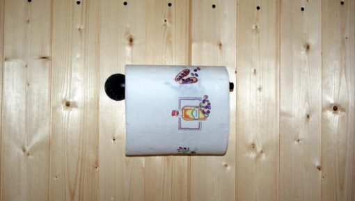 support papier essuie main industriel métal